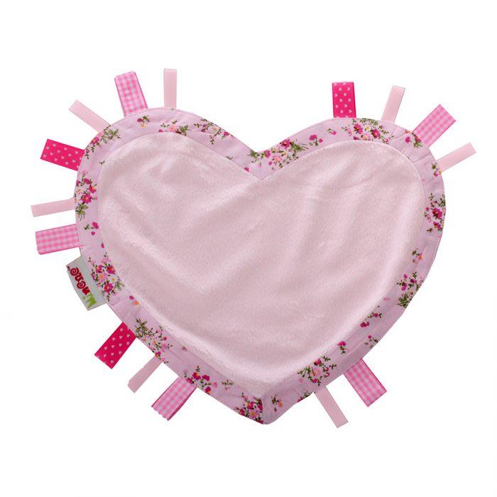 pink heart comforter