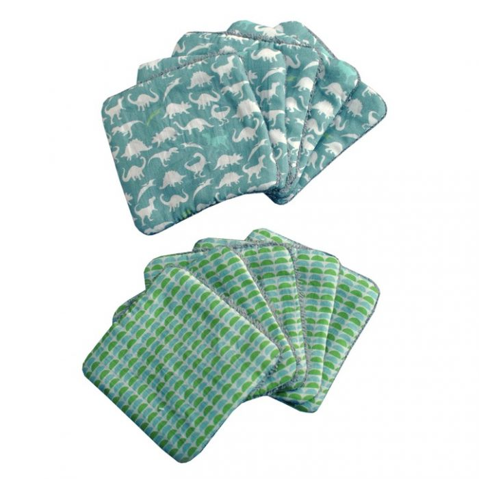 Gorgeous eco friendly baby wash cloths