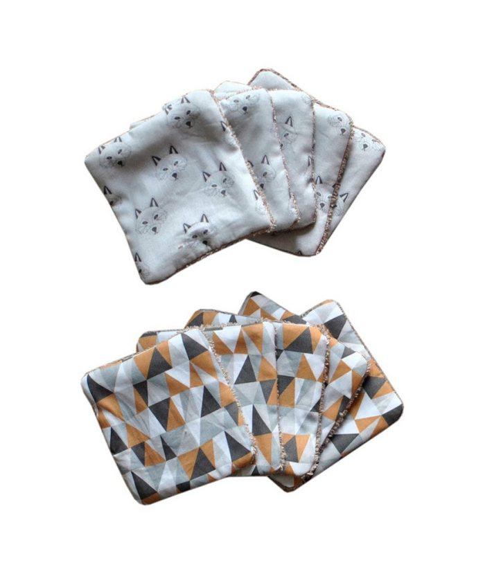 Gorgeous eco friendly baby wash cloths