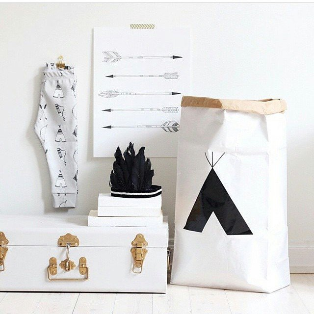 great way to store all your child's toys fun and contemporary paper storage bag makes any tidying so much fun