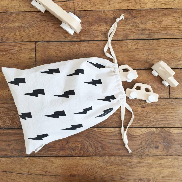 children's storage bag by Mon petit Zoreol