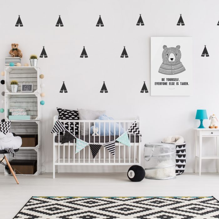 Add fun and style with these vinyl wall stickers