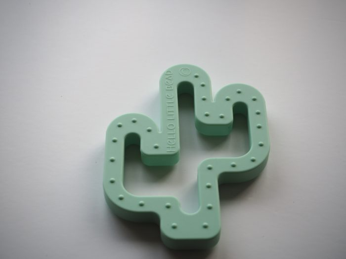 Fab cactus teether to help your little one when they are teething, it's quirky and fun ideal baby present or baby shower